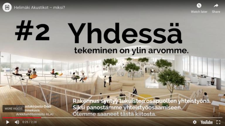 10 syytä tilata akustinen suunnittelu Helimäki Akustikoilta