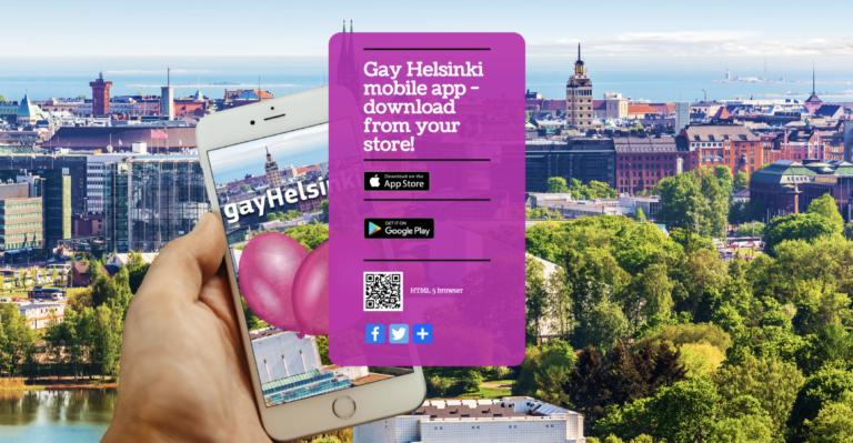 Gay Helsinki – mobiilisovellus nostaa kartalle LGBTI-palvelut