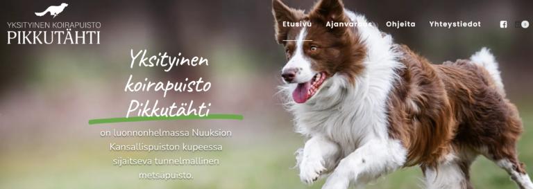 Yksityinen koirapuisto verkossa